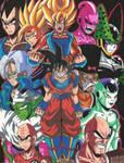 Dragon Ball Z: Fear our Power Level! by d13mon-studios