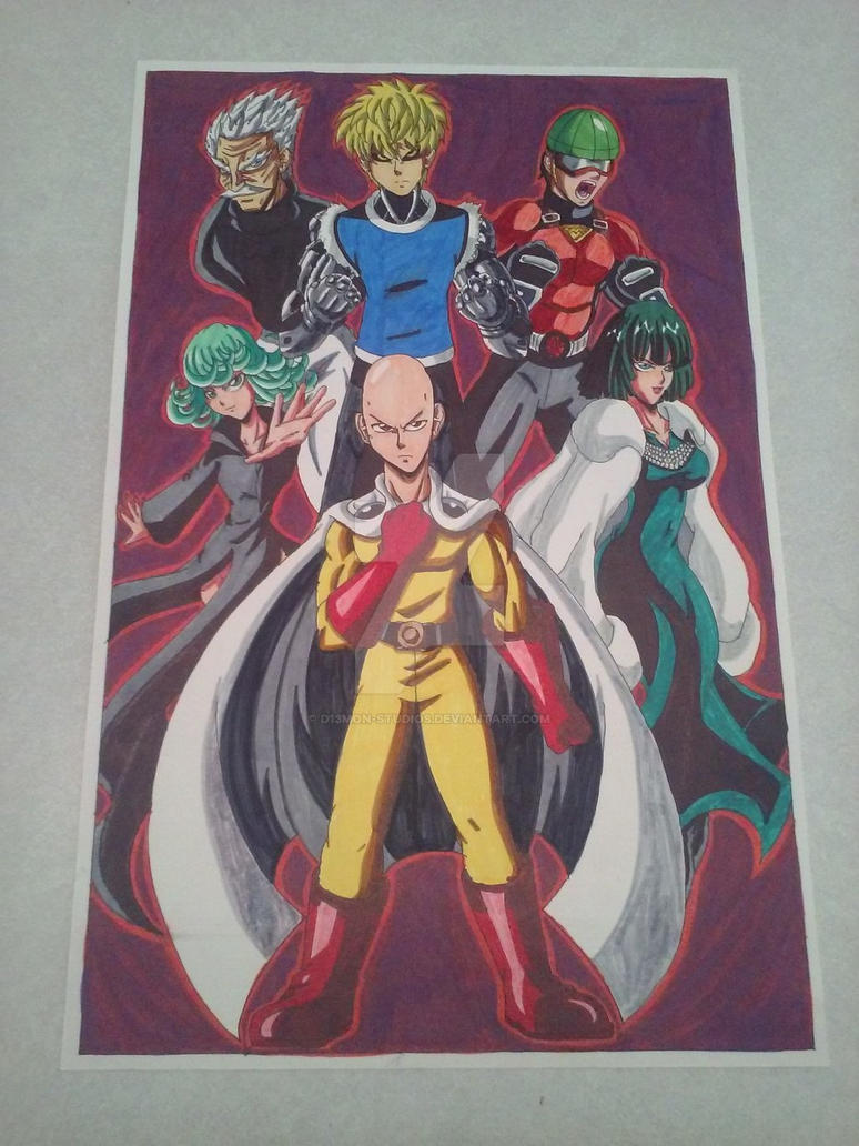 One-Punch Man: Fight to save the World! by d13mon-studios