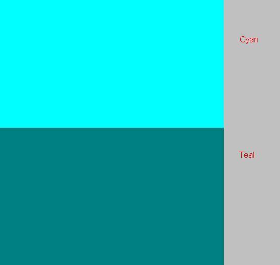 Teal Vs Cyan By Sarukun1228 On DeviantArt