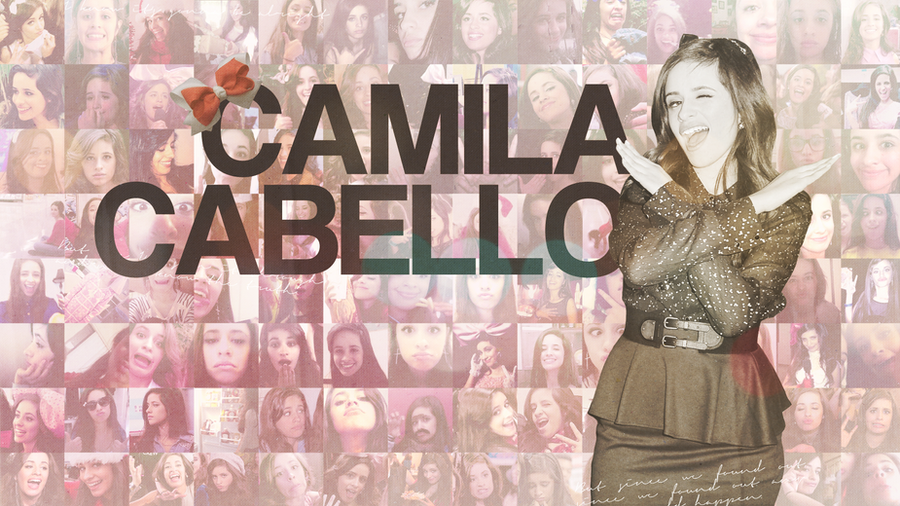 camila cabello collage wallpaper by believe91