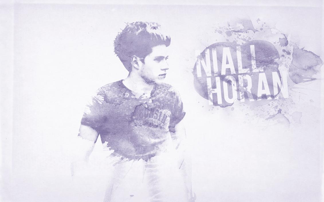 Niall Horan Paint Splash Wallpaper by beLIEve91 on DeviantArt