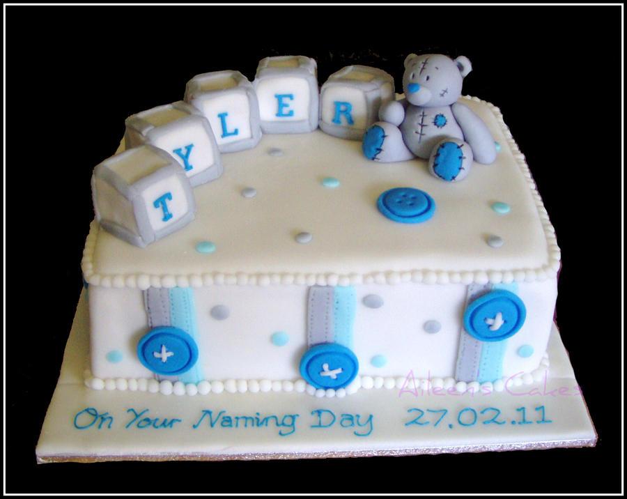Tatty Teddy Baby Shower Cake