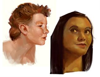 Heads by lemurali