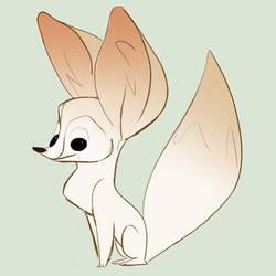 Fennec Fox by lemurali