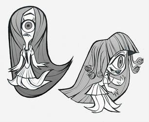 Monster Schoolgirls by lemurali