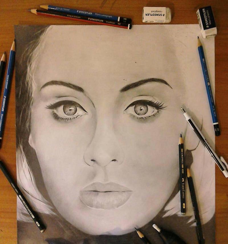 Adele  by Ethan26Art