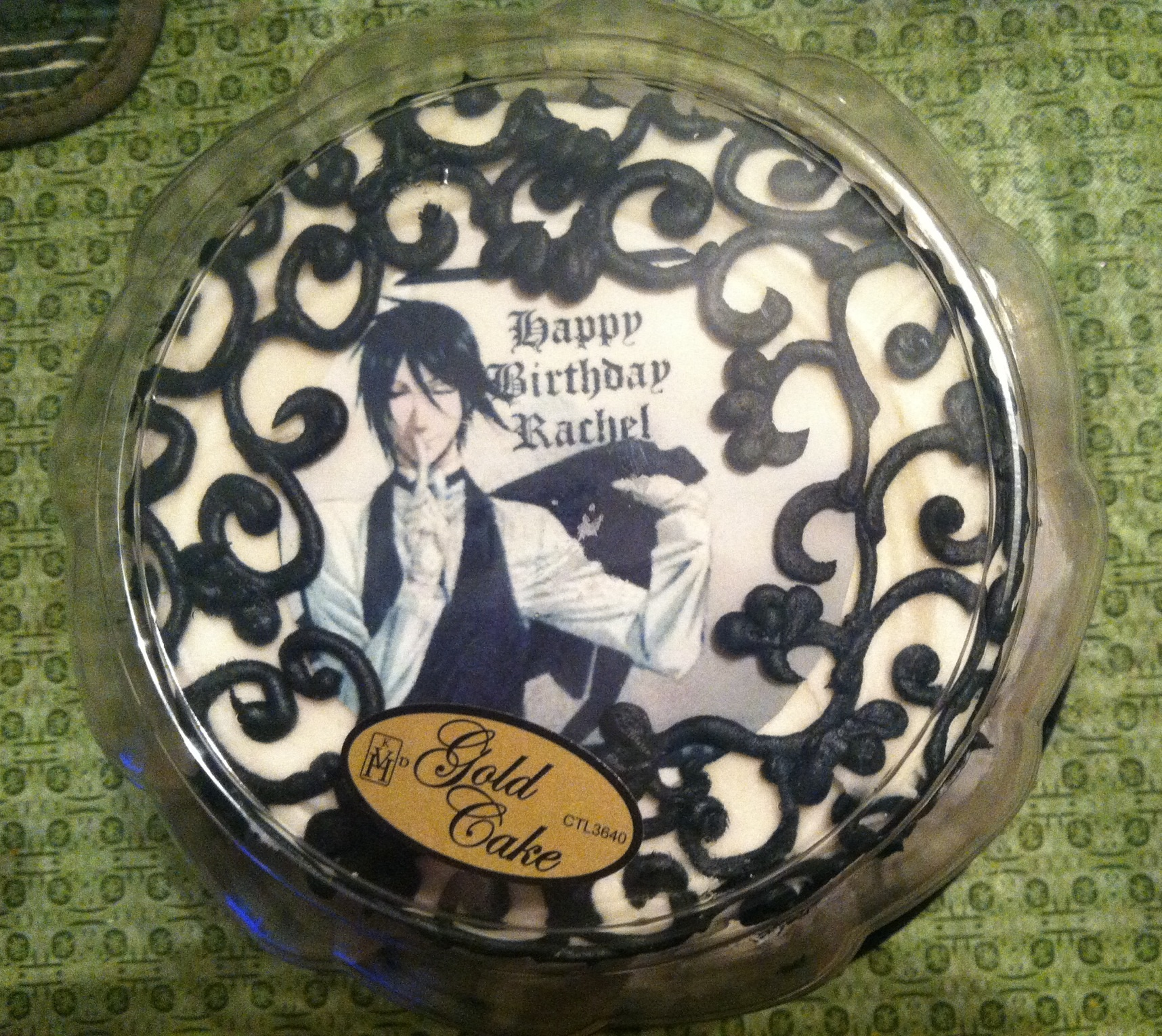 Black Butler Sebastian birthday cake pt 1 by floraiji30 on ...