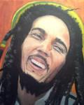 Bob Marley - Painting Oil
