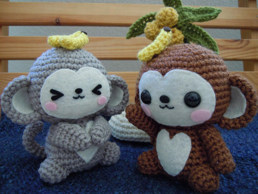 Amigurumi Monkey Patterns : Monkey amigurumi by cuteamigurumi on deviantart
