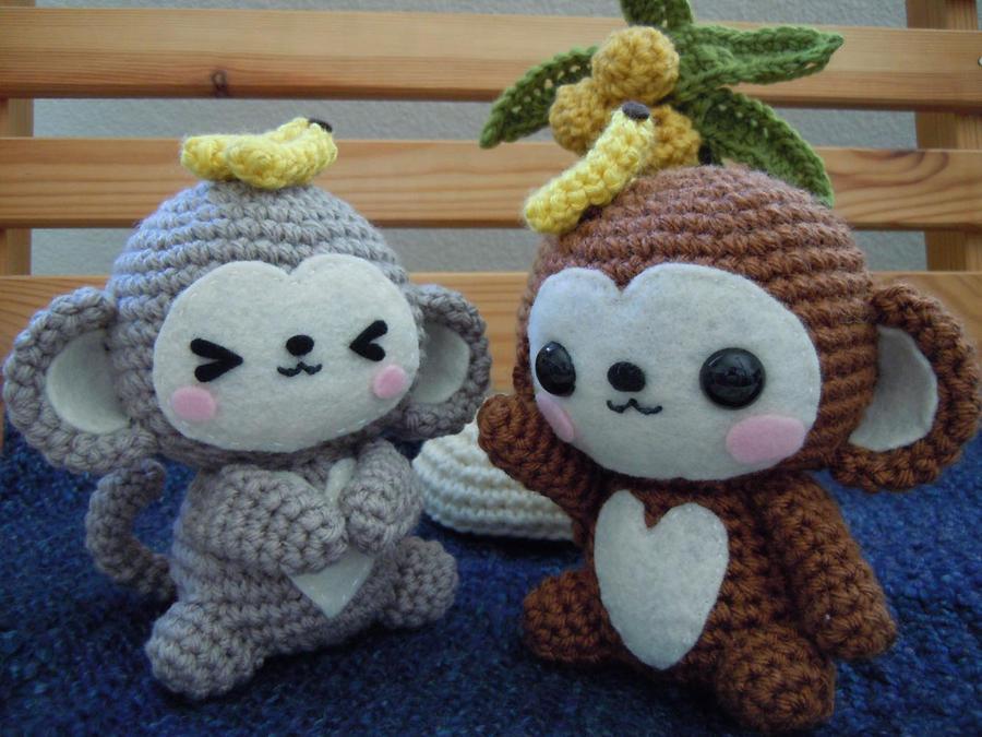 Kawaii Monkey Amigurumi : Monkey Amigurumi by cuteamigurumi on DeviantArt