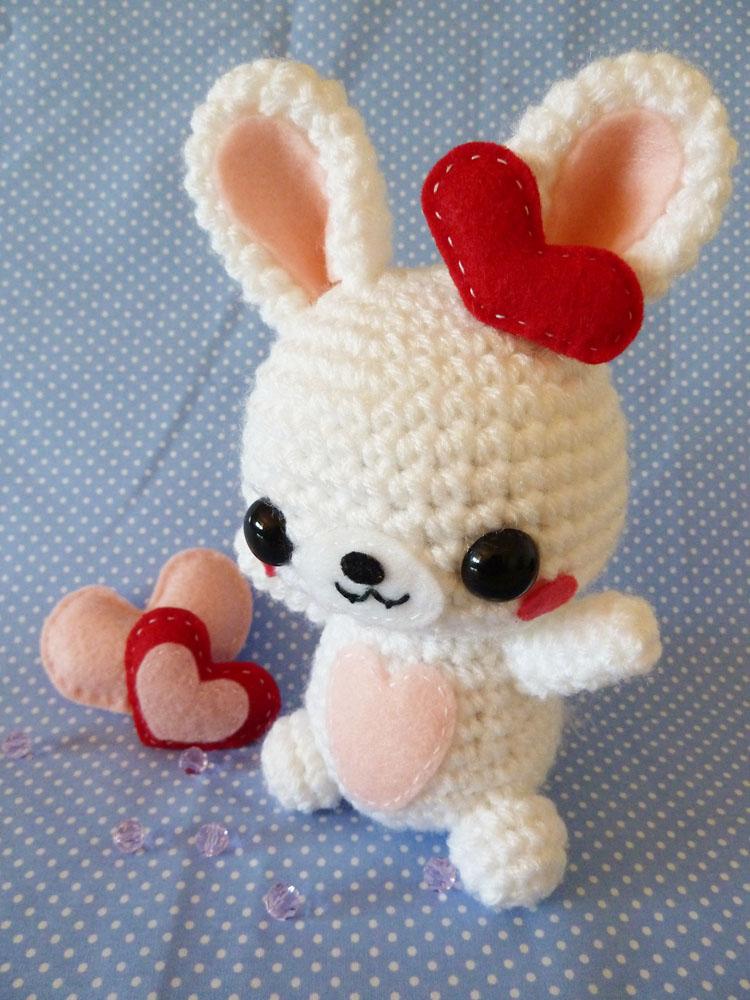 Rabbit Amigurumi by cuteamigurumi