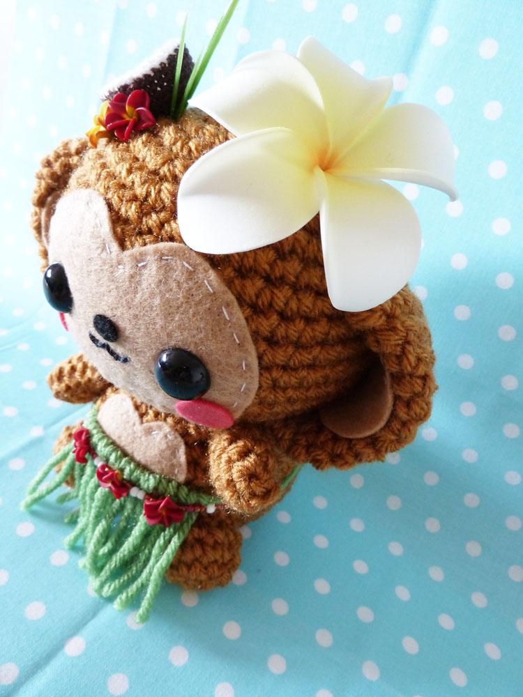Amigurumi Hawai Doll : Hawaiian Monkey Amigurumi by cuteamigurumi on deviantART