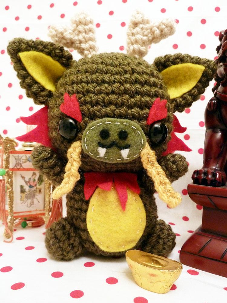 Amigurumi Chinese Dragon : Chinese dragon amigurumi by cuteamigurumi on DeviantArt