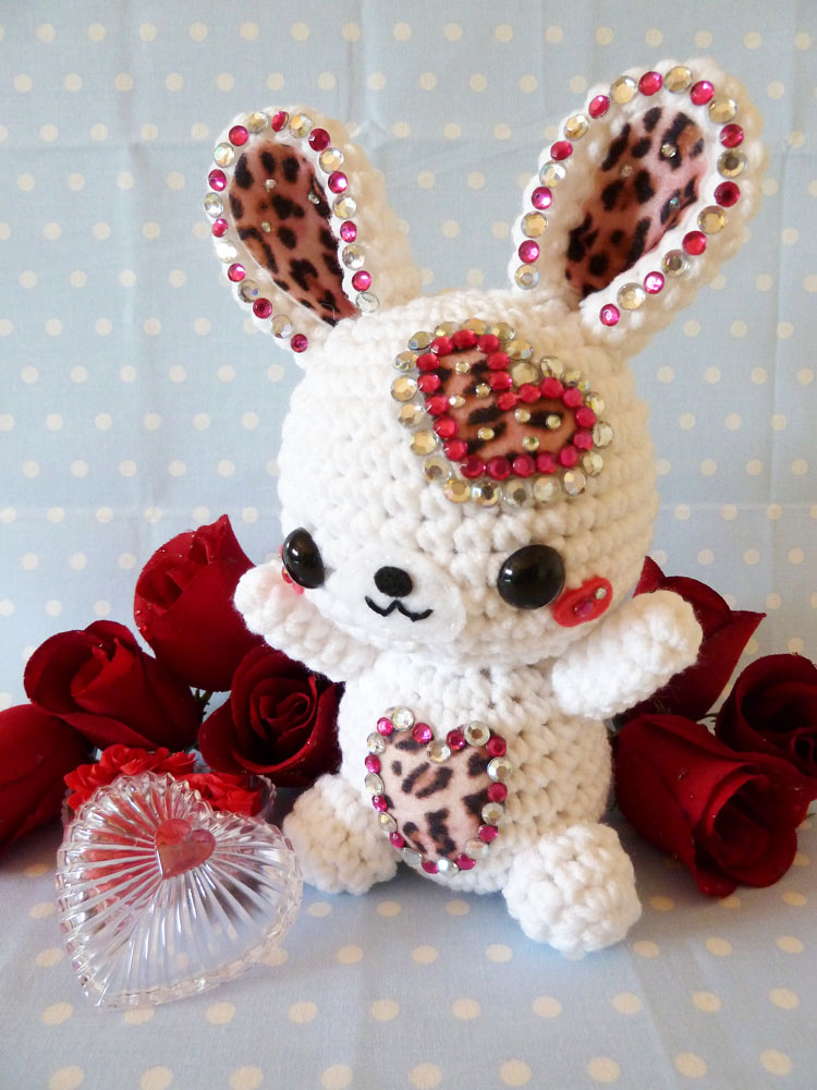 Valentines Day Rabbit Amigurumi by cuteamigurumi on ...
