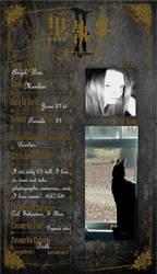 My Res. Sheet by blondofu