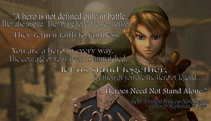 LOZ: Twilight Princess Novel Inspirational Quote