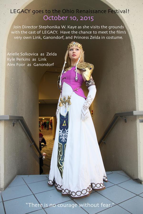 Legacy goes to Ohio Renaissance Fest by Stephonika-W-Kaye