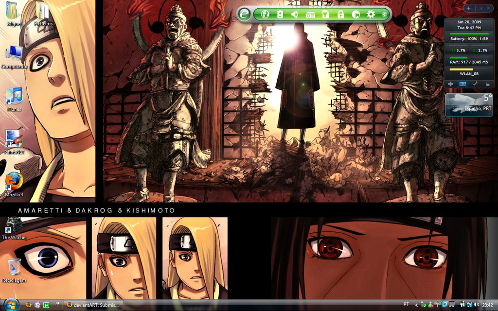 Desktop Screenshot 20.01.2009