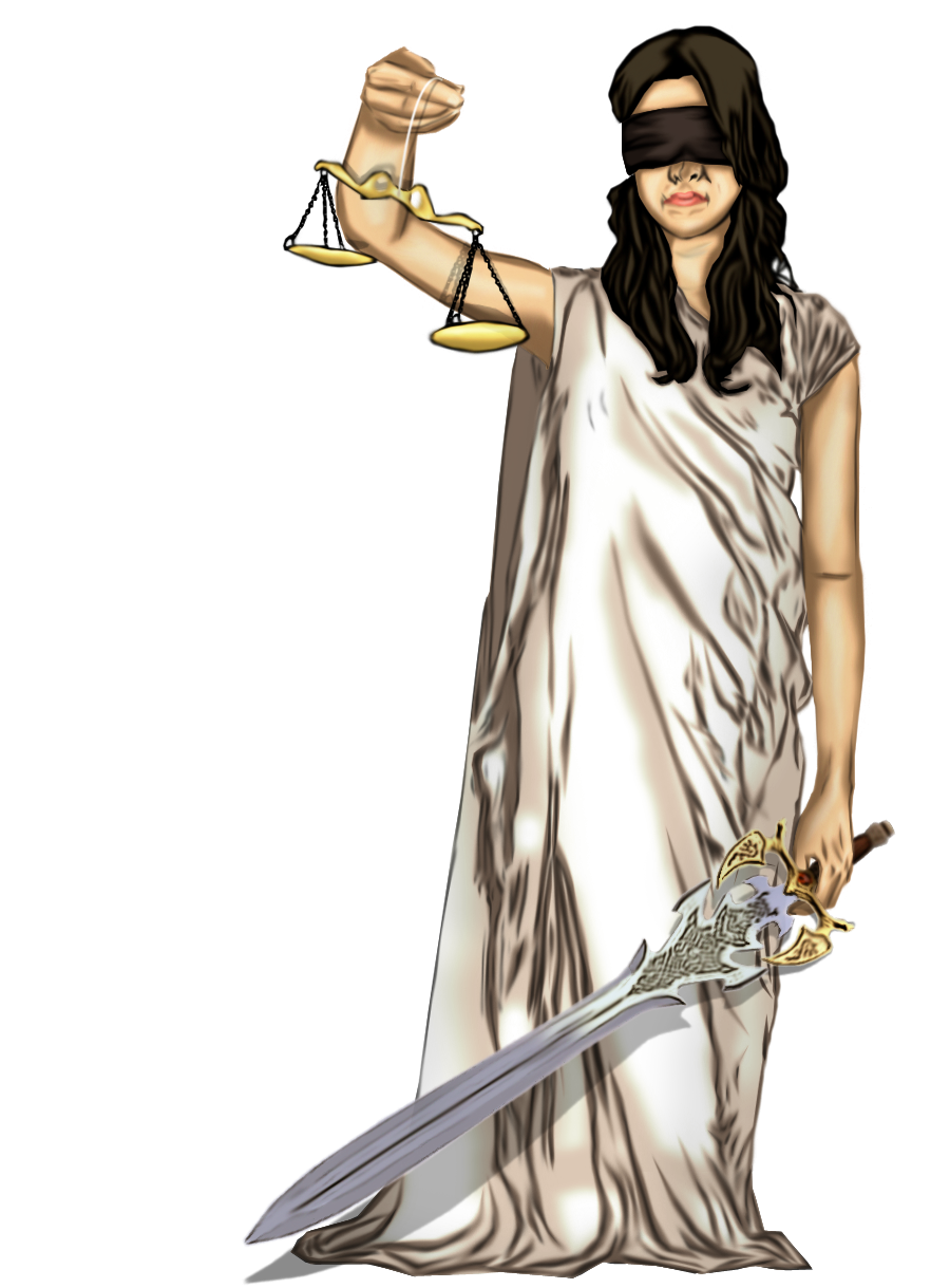 Lady Justice Art Lady Justice ii by