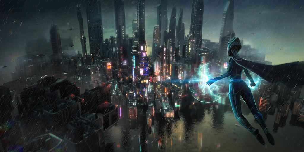 Cyber City by Lastsiren