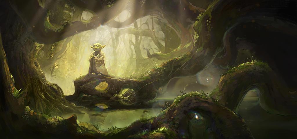 Yoda by Lastsiren
