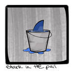 Shark in the pail