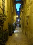 Narrow street in Valletta