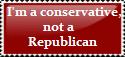 Conservative, not Republican by AtheosEmanon