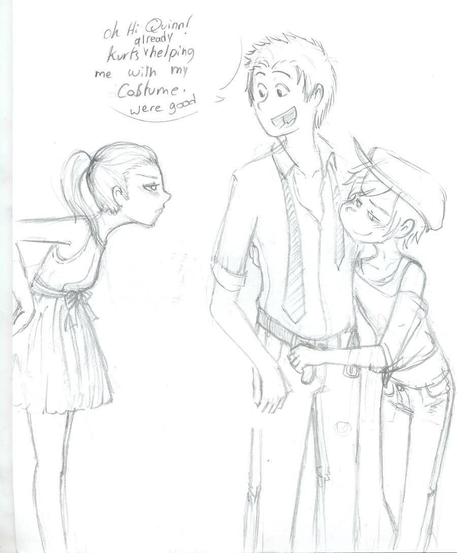 Glee  jealousy by numbah3Jealousy Drawing