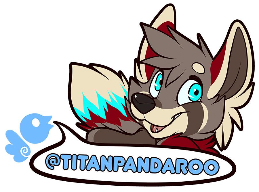 Twitter - @TitanPandaroo by notveryathletic