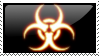 Biohazard stamp by Kradion
