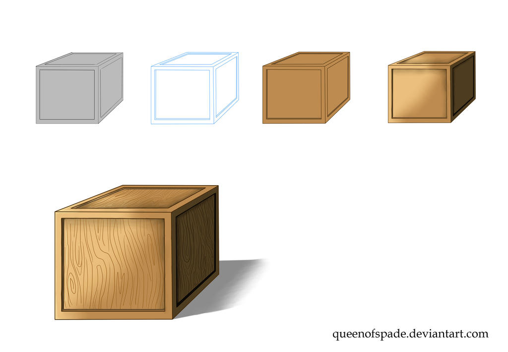 Box Colouring Test by QueenOfSpade