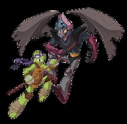 TMNT - Donatello and Wingnut