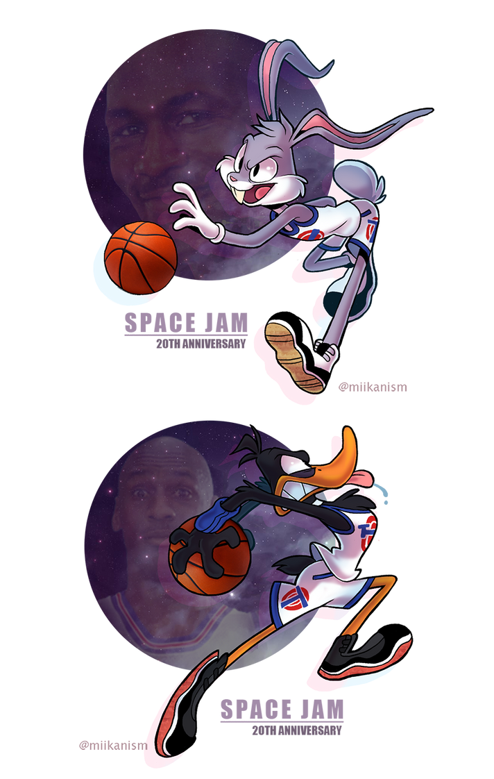 Space Jam 20th by miikanism