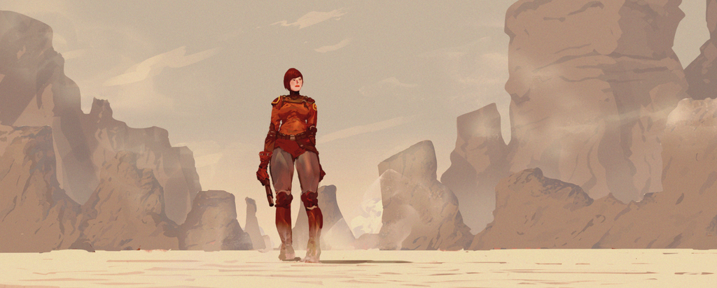 Concept art sample by miguelrobledo