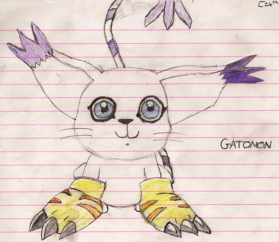 Gatomon by rbetty