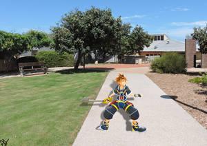 Sora in the real world (KH fanart)