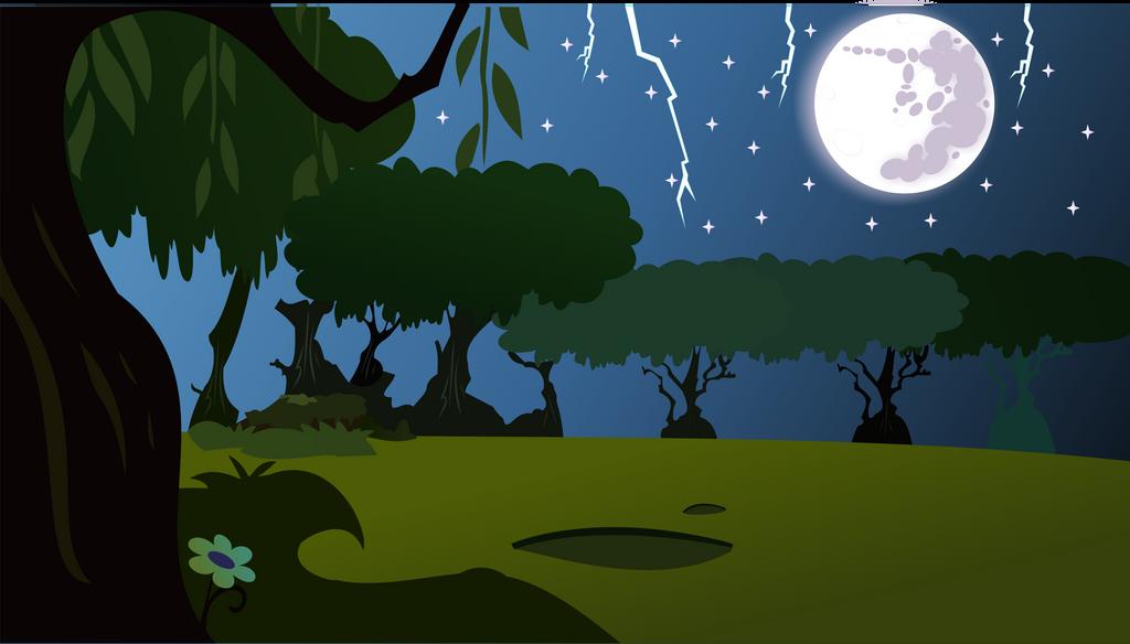 Everfree Forest Background No Mist 384271930 on Random Number Cartoon