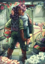 Flower Shop by sidelys