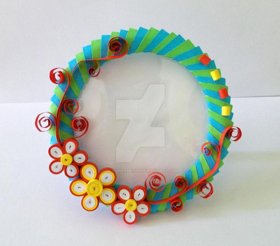 3d origami picture frame by designermetin on deviantart