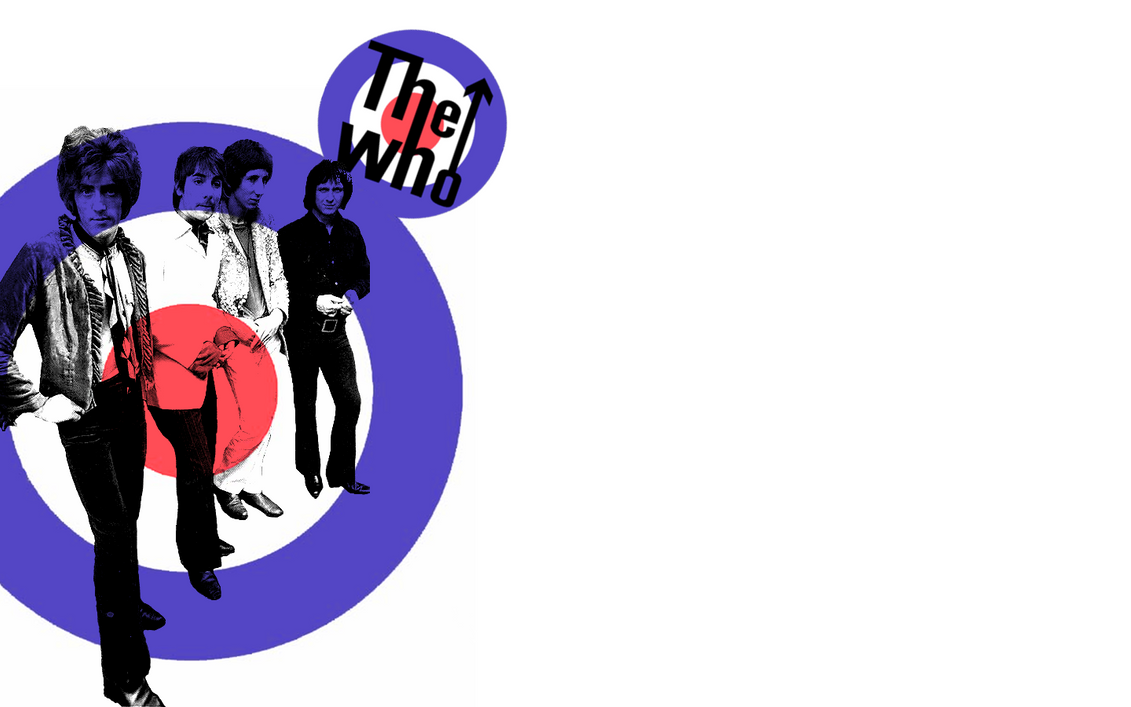 The Who Target Wallpaper by magnoliastarlight