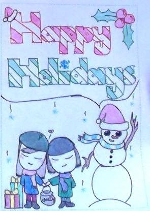 Happy Holidays - UNICEF by RoseDouglasWolf