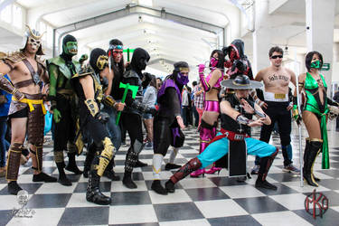 Mortal Kombat Outstanding (MK Chilean Cos Team)