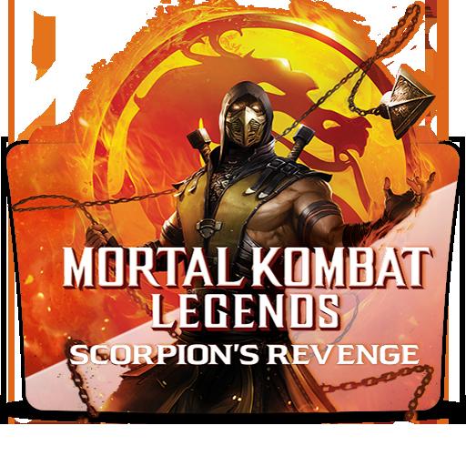 Mortal Kombat Scorpions Revenge 2020 Folder Icon By Yasinproduct