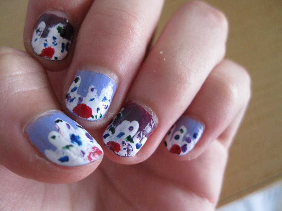 Cupcake Nail Art by MooNLightYang on DeviantArt