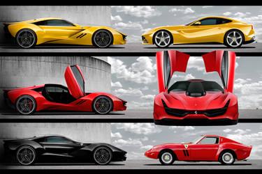 Ferrari CascoRosso-doors by DejanHristov
