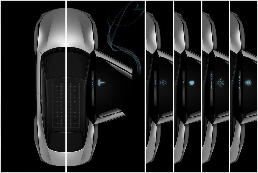 Tesla Model S or Model S Killer? top by DejanHristov