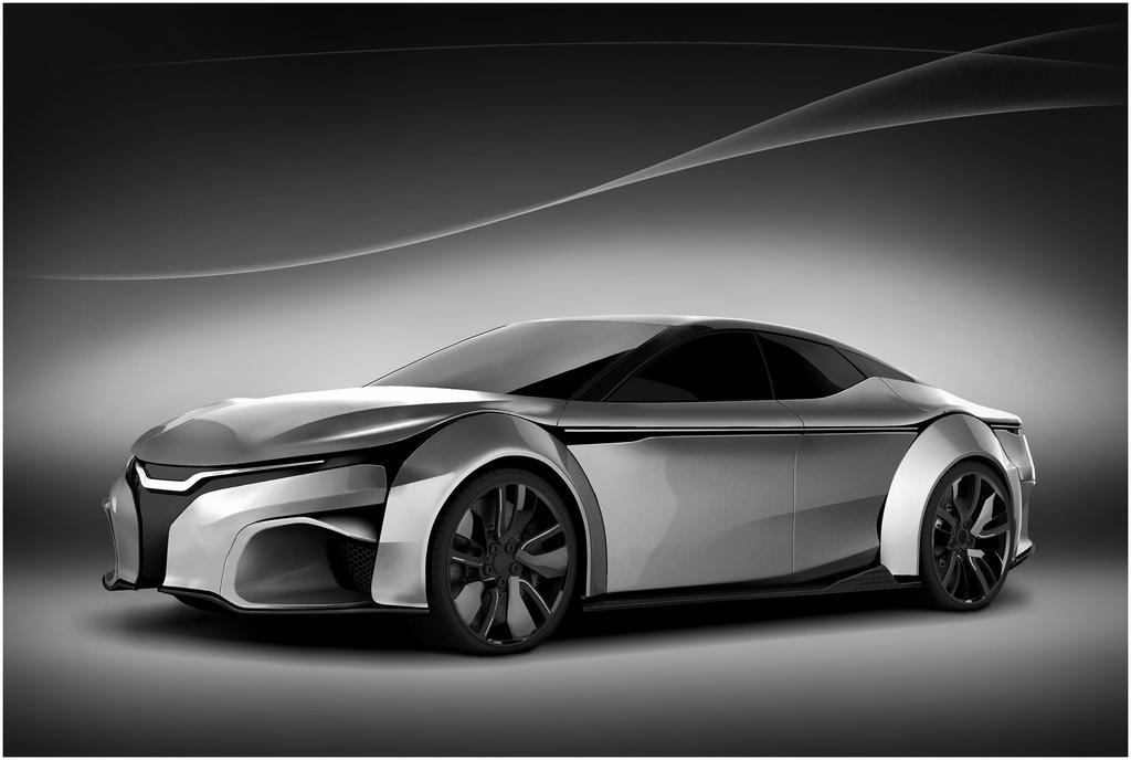 Tesla Model S or Model S Killer? front by DejanHristov