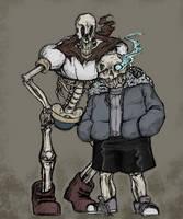 Skeletons! by Enigmar