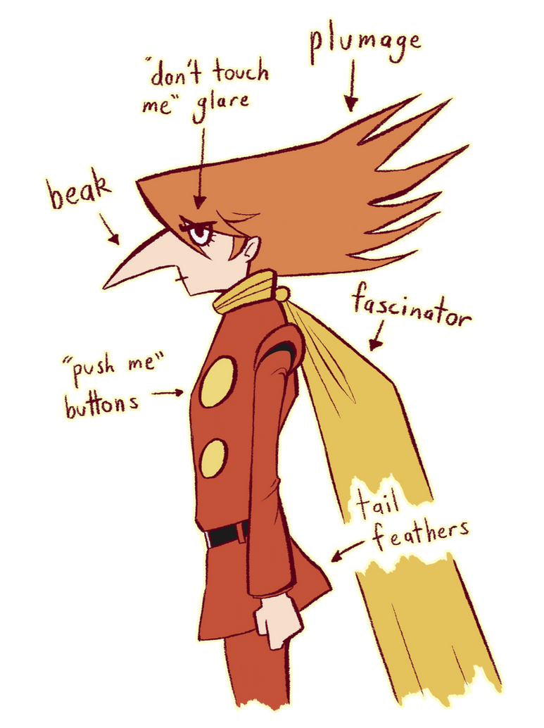 Jet Bird Anatomy by Enigmar on DeviantArt